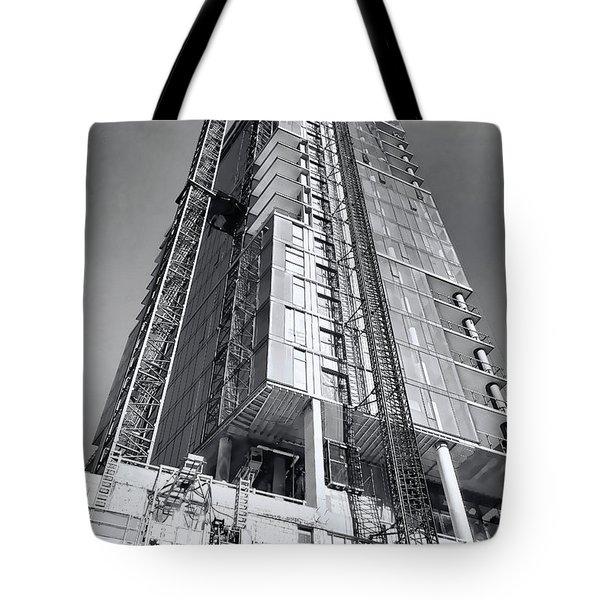 Skyscraper Construction - Chicago Tote Bag