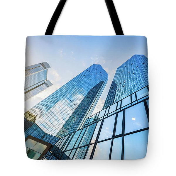 Skyscrapers Tote Bag by JR Photography