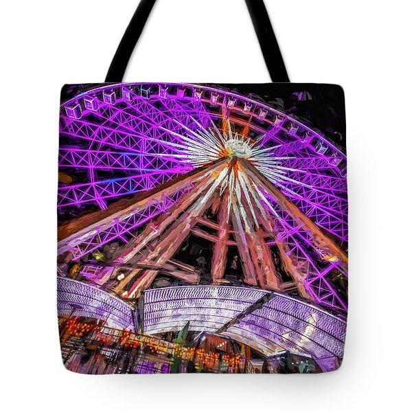 Skyview Atlanta Tote Bag