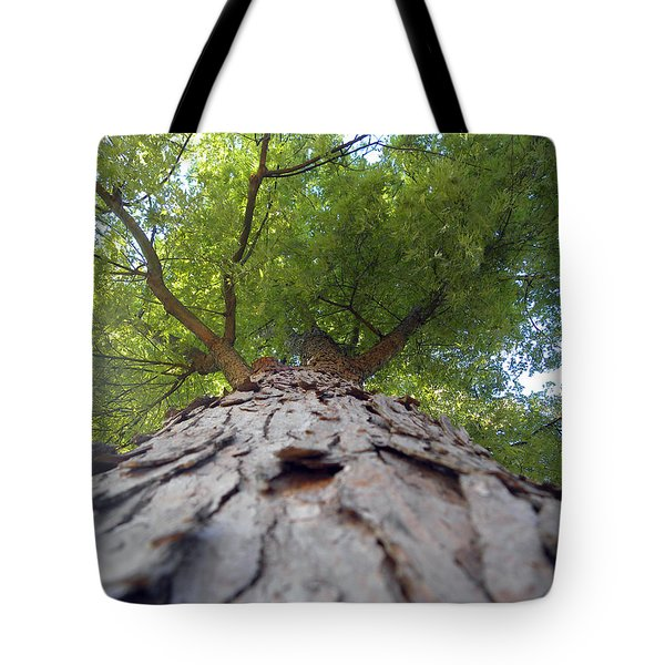 Tote Bag featuring the photograph Skyward by Teresa Schomig
