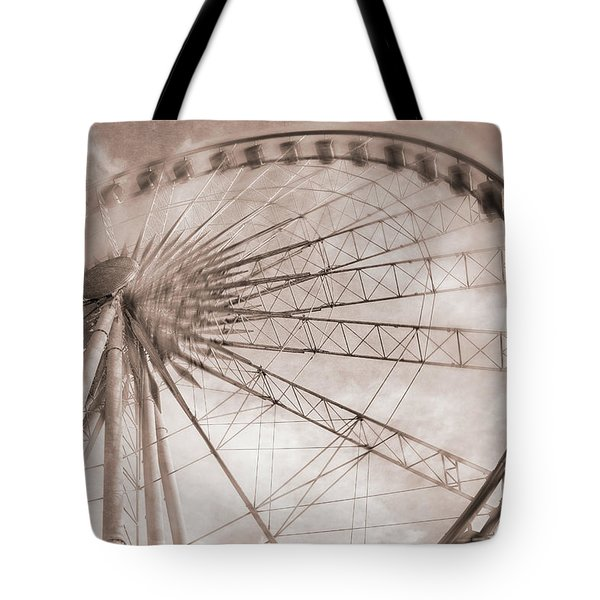 Skywheel In Niagara Falls Tote Bag