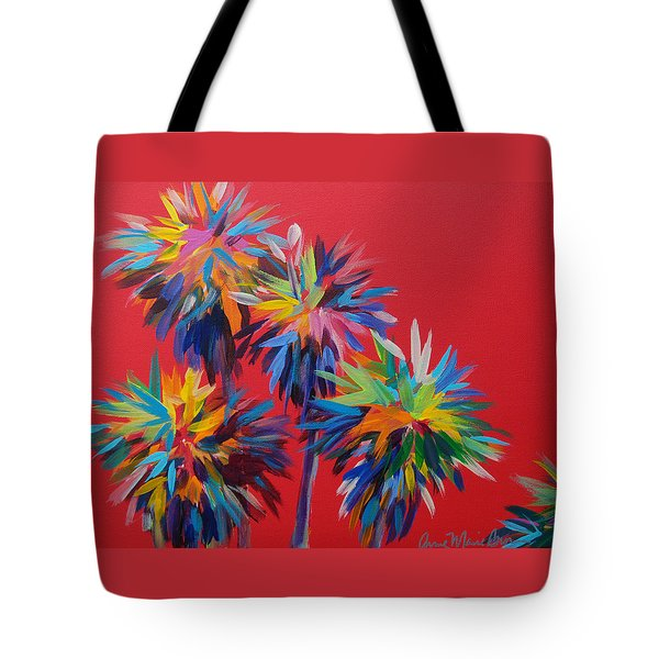 Sl Palms Tote Bag
