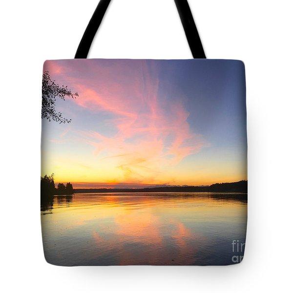 Slack Tide Tote Bag by Sean Griffin