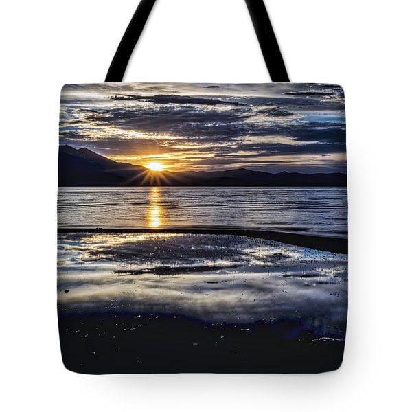 Slack Time Tote Bag by Mitch Shindelbower