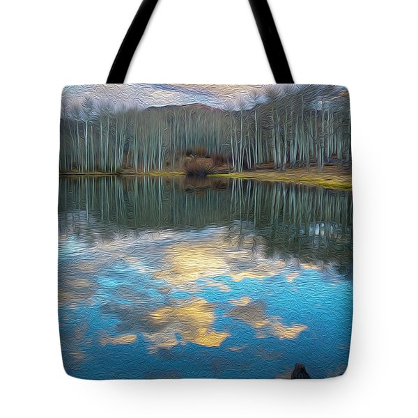 Slack Weiss Autumn Tote Bag