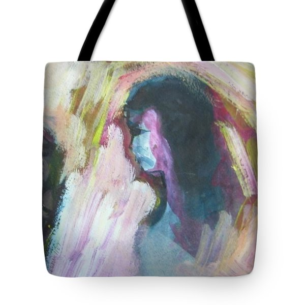 Slapping Without Touching Tote Bag