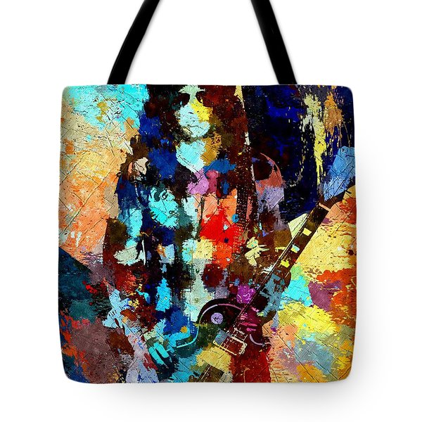 Slash Grunge Tote Bag