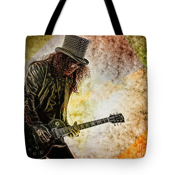 Slash - Guitarist Tote Bag