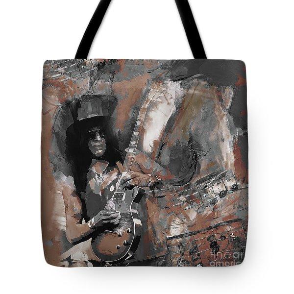 Slash Guns And Roses  Tote Bag