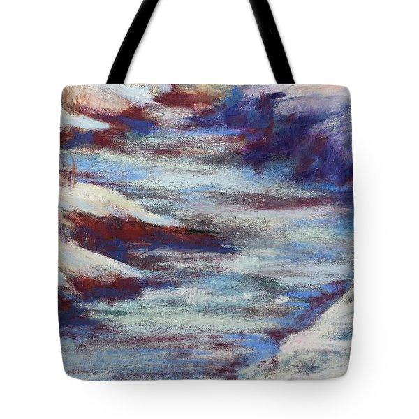 Slate River Melt Tote Bag