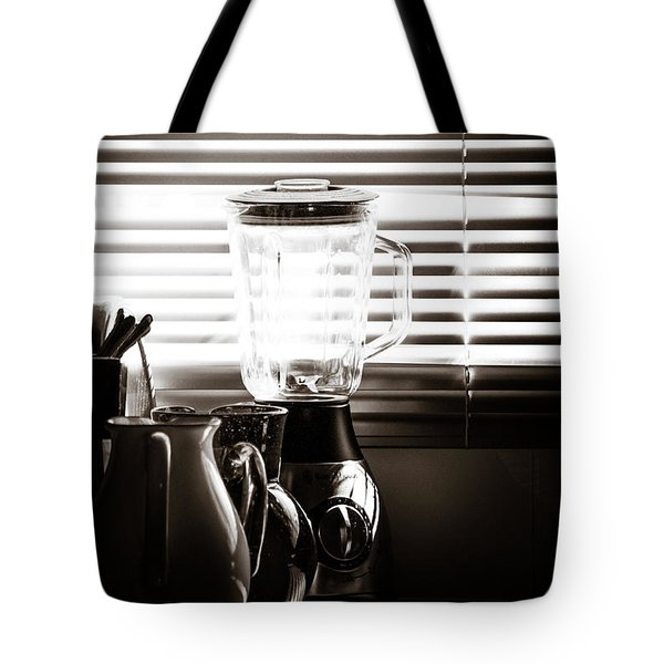 Slatted Shadows Tote Bag