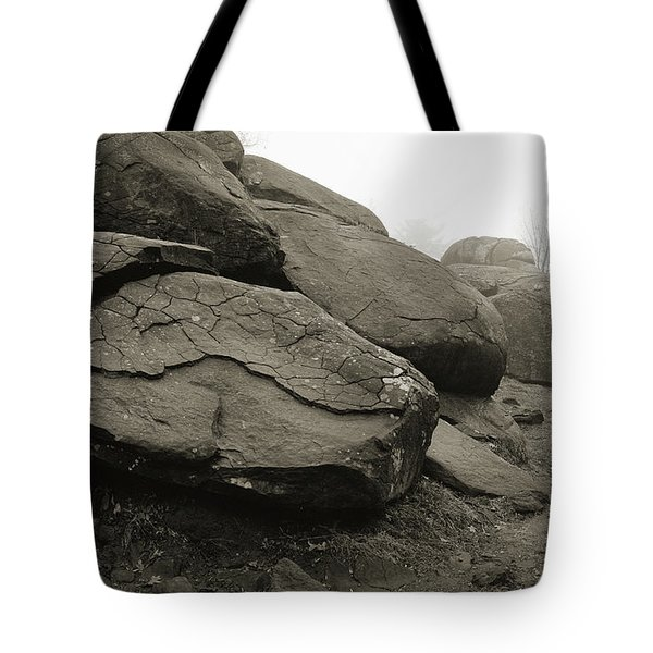 Slaughter Pen At Devils Den Tote Bag