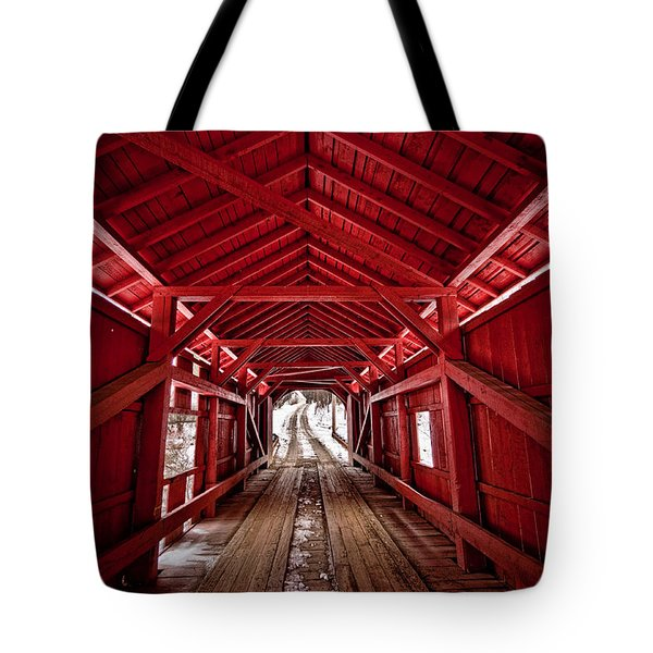 Slaughterhouse Red Tote Bag