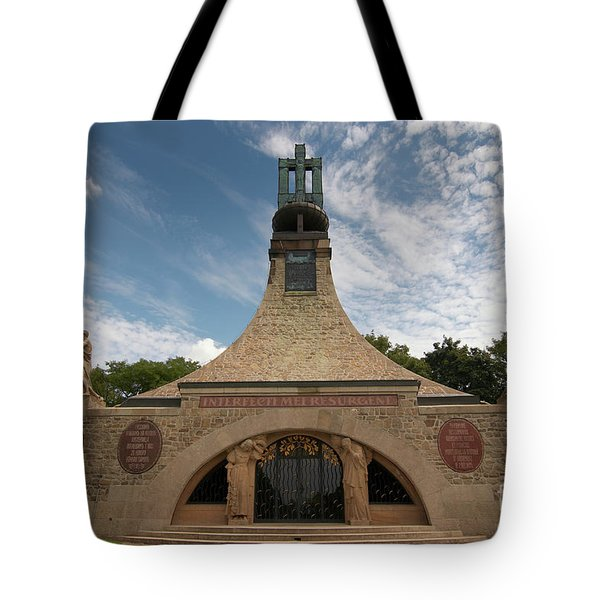 Tote Bag featuring the photograph Slavkov Peace Memorial by Michal Boubin