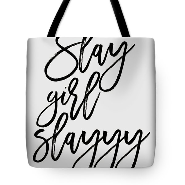 Slay Tote Bag by Elizabeth Taylor