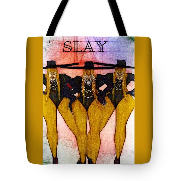 Slayd Tote Bag