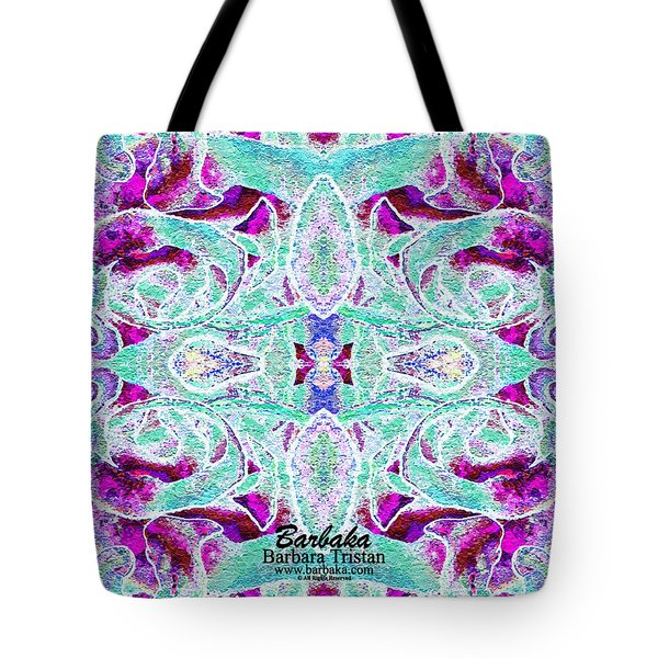 Tote Bag featuring the photograph Sleap Elppa by Barbara Tristan