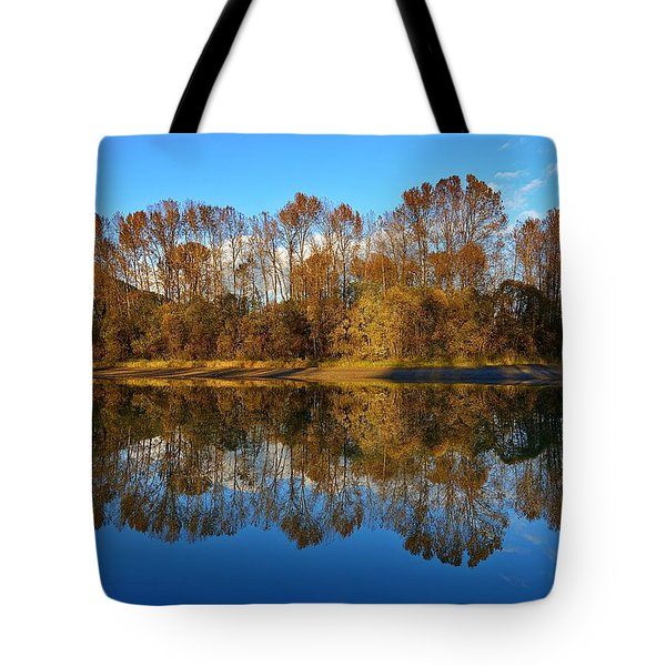 Fraser River Arm  Tote Bag