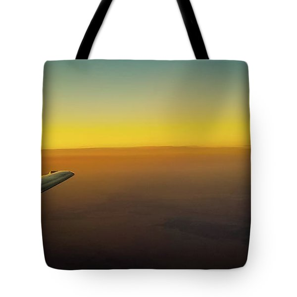 Tote Bag featuring the photograph Sleep Above The World by Jonny D