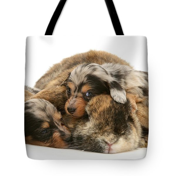 Sleep In Camouflage Tote Bag