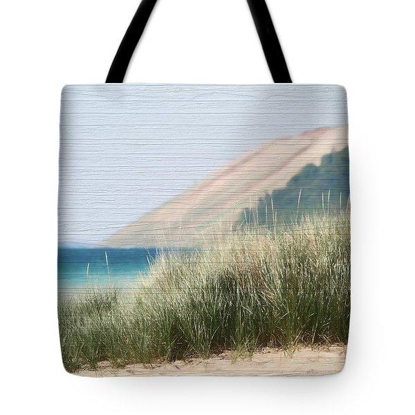 Sleeping Bear Sand Dune Tote Bag by Dan Sproul