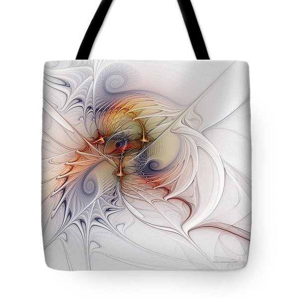 Tote Bag featuring the digital art Sleeping Beauties by Karin Kuhlmann