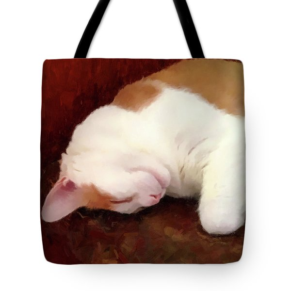 Sleeping Boo Tote Bag by Gary Grayson