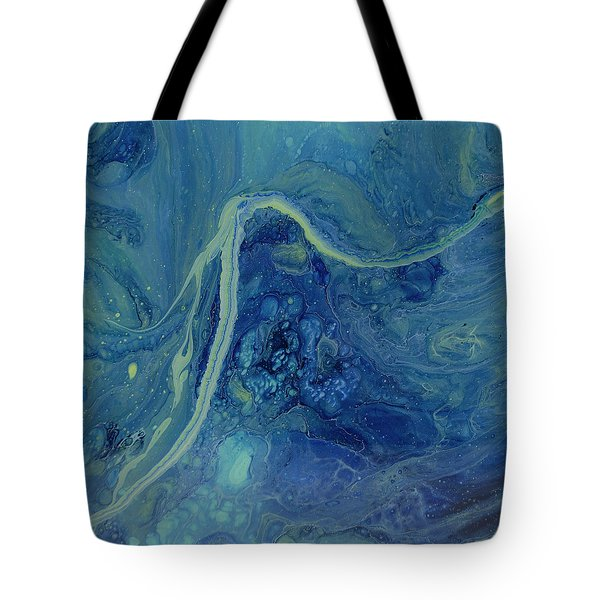 Sleeping Depths Tote Bag