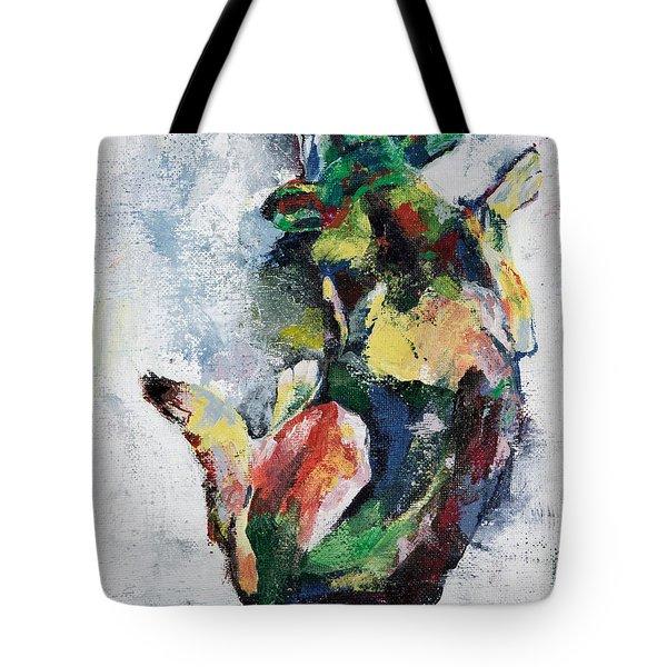 Sleeping Dog Tote Bag