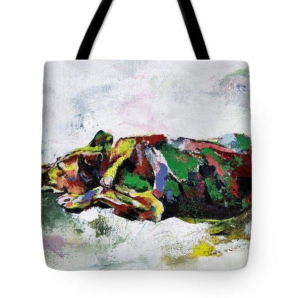 Sleeping Dog_2 Tote Bag