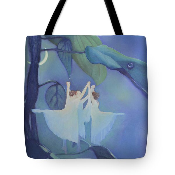 Sleeping Fairies Tote Bag by Blue Sky