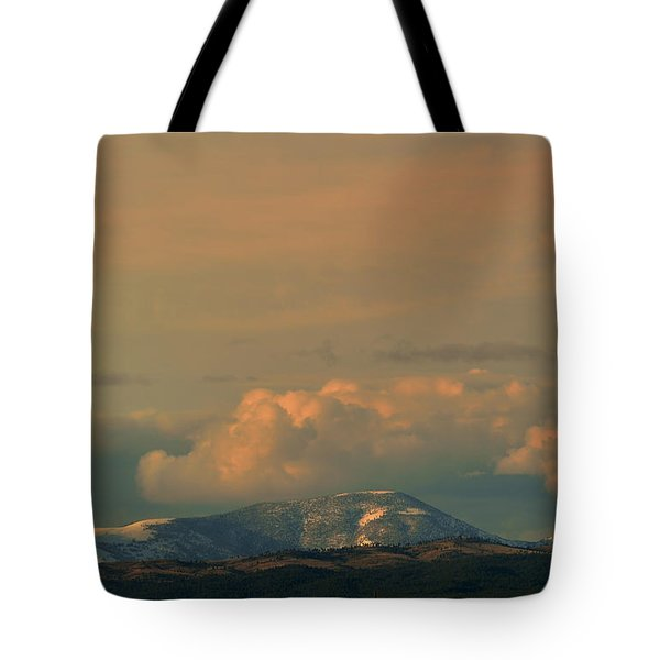 Tote Bag featuring the photograph Sleeping Giant Near Helena Montana by Kae Cheatham