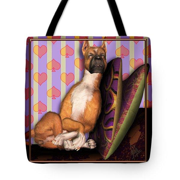 Sleeping II Tote Bag by Nik Helbig