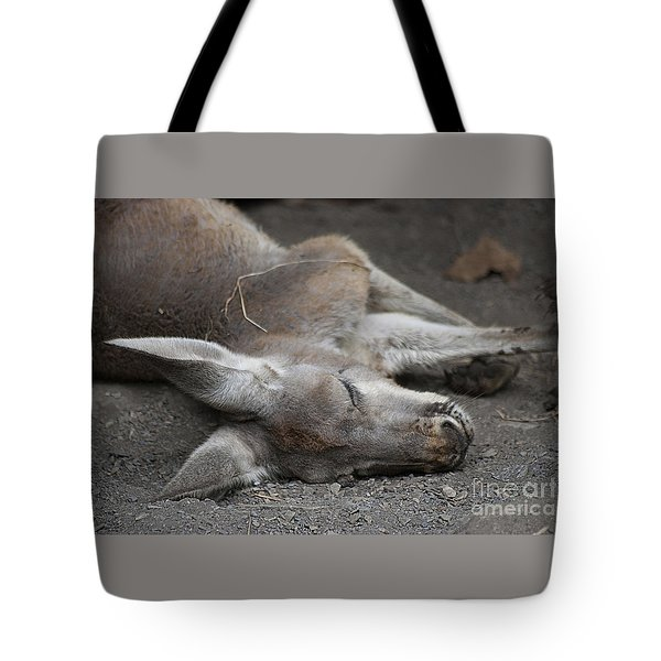 Tote Bag featuring the photograph Sleeping Joey 20120714_65a by Tina Hopkins