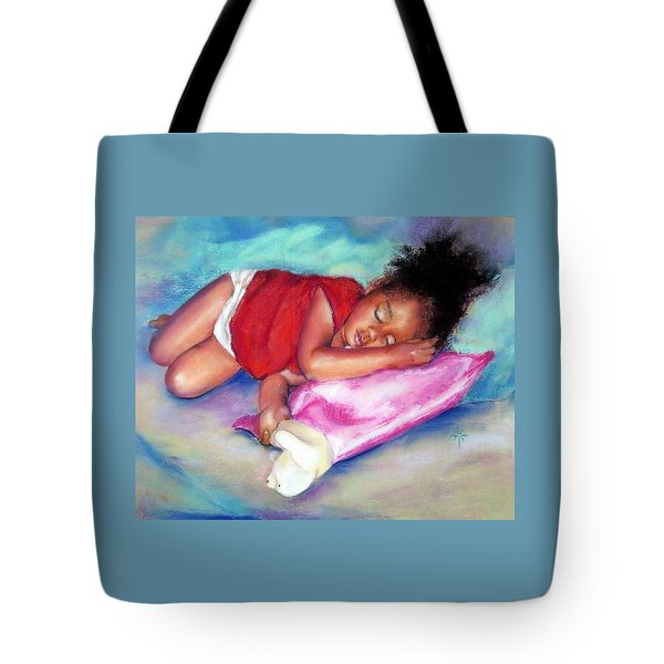 Sleeping On A Cloud Tote Bag