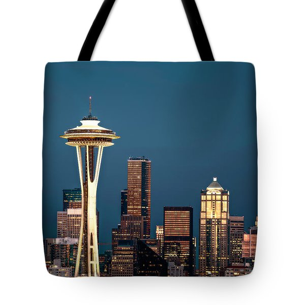 Sleepless In Seattle Tote Bag by Eduard Moldoveanu