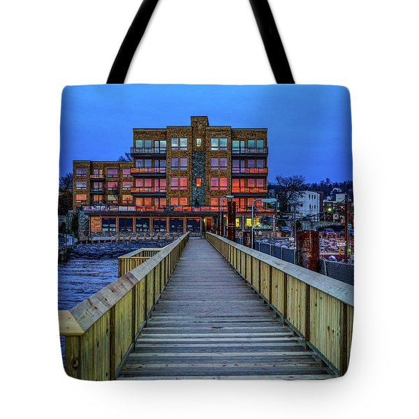 Sleepy Hollow Pier Tote Bag by Jeffrey Friedkin