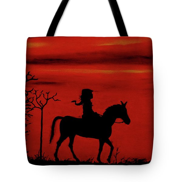 Sleepy Hollow Tote Bag by Robert Marquiss
