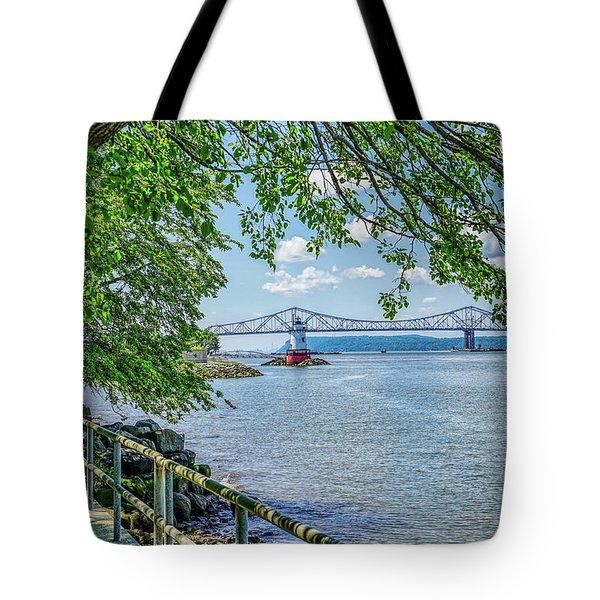 Sleepy Hollow/tarrytown Lighthouse Tote Bag