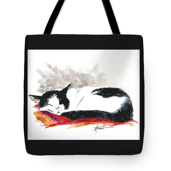 Sleepy Time Boy Tote Bag