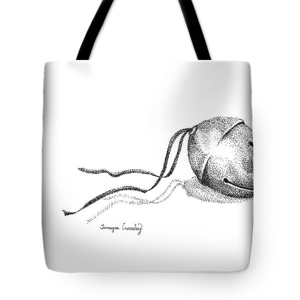 sleigh Bell Tote Bag