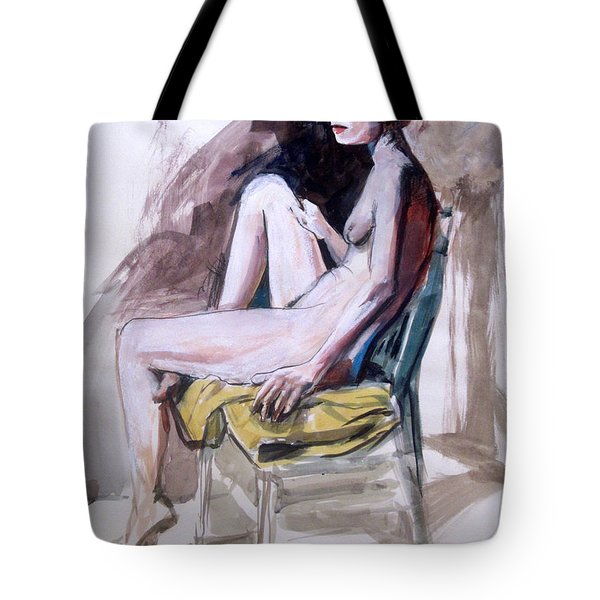 Slender Redhead Tote Bag by Mark Lunde