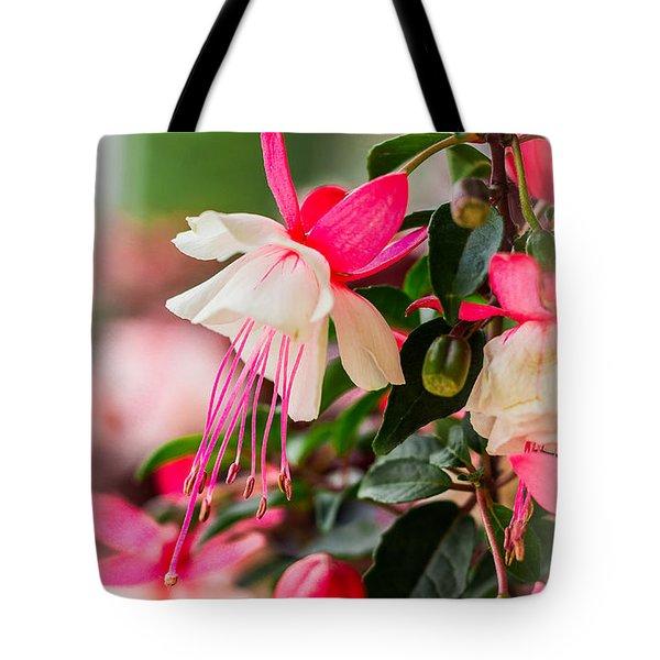 Slice Of Asian Garden Tote Bag