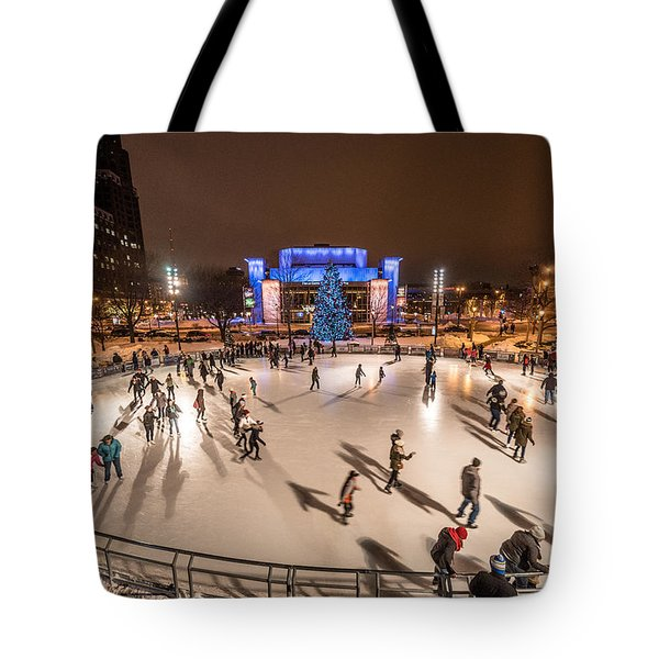 Slice Of Ice Tote Bag by Randy Scherkenbach