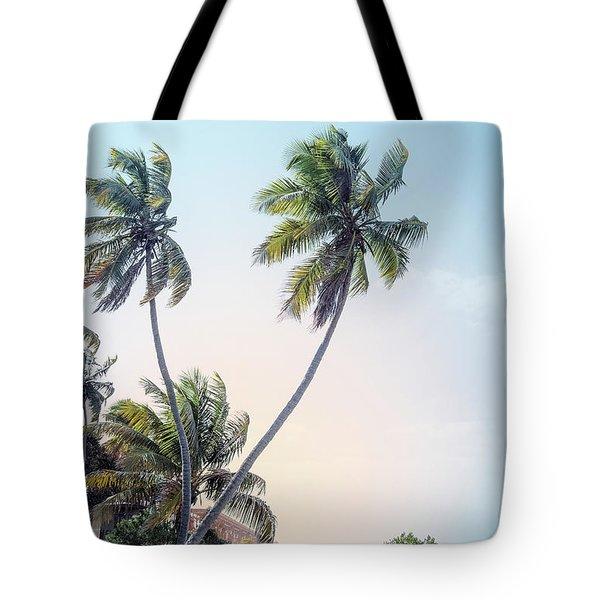 Slice Of Paradise Tote Bag