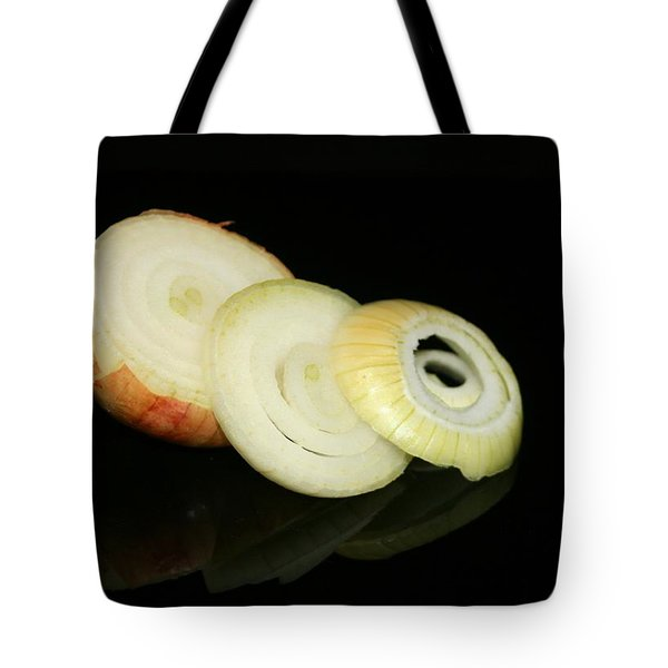 Slice Onion Tote Bag by Cathy Harper