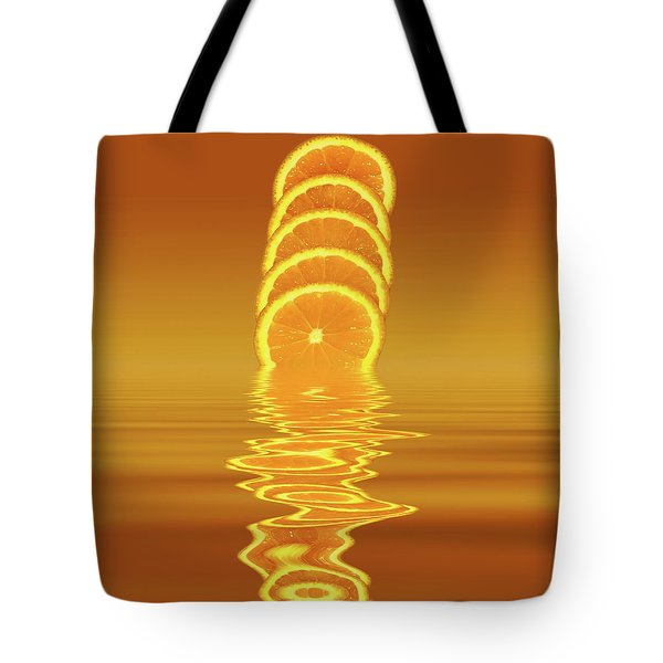 Slices Orange Citrus Fruit Tote Bag
