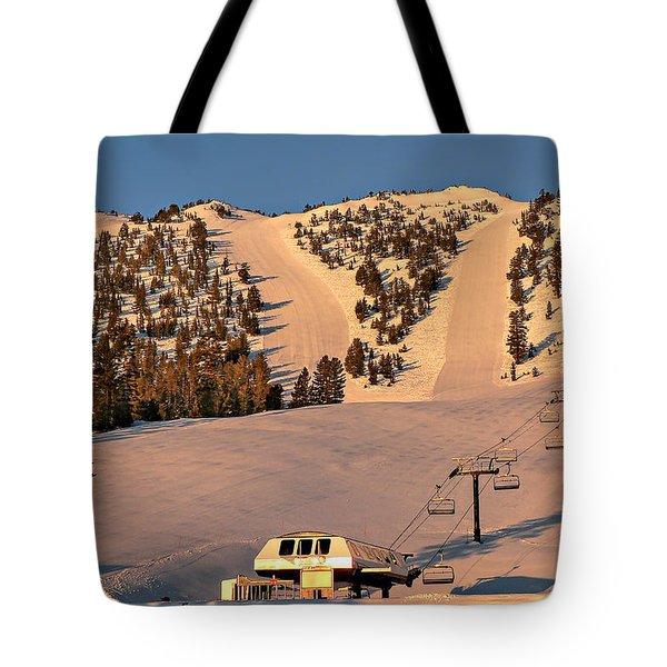 Slide Mountain Tote Bag