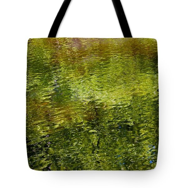 Slight Summer Ripple Tote Bag
