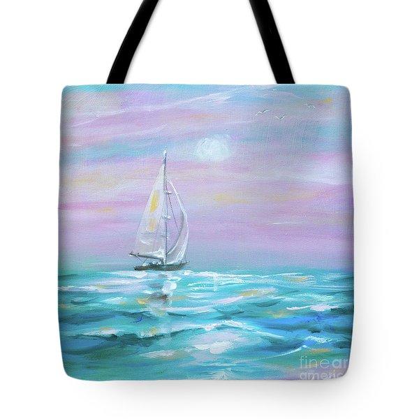 Slight Wind Tote Bag
